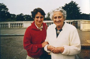 Deborah Hoffmann with her mother, Doris Hoffmann, an Alzheimer's disease patient.